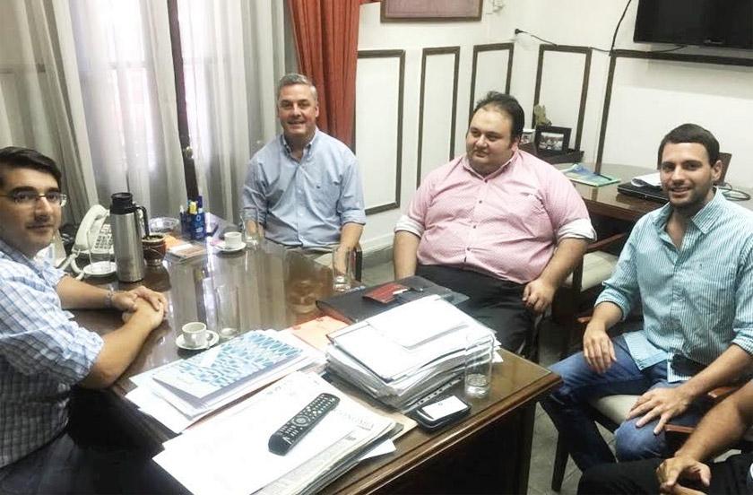 Actividades oficiales del intendente Chavez en Corrientes