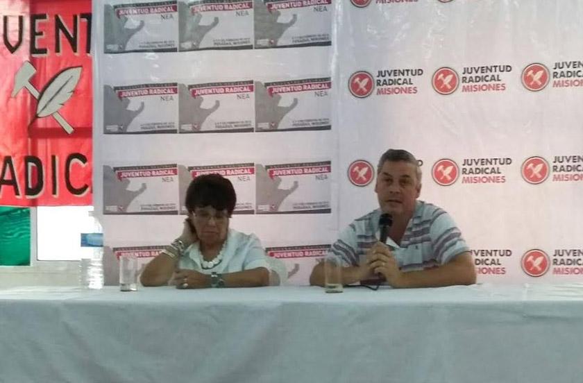 Chavez en Encuentro de Jóvenes del NEA