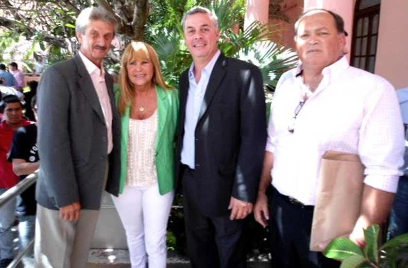 Bella Vista presente en la visita del presidente Macri