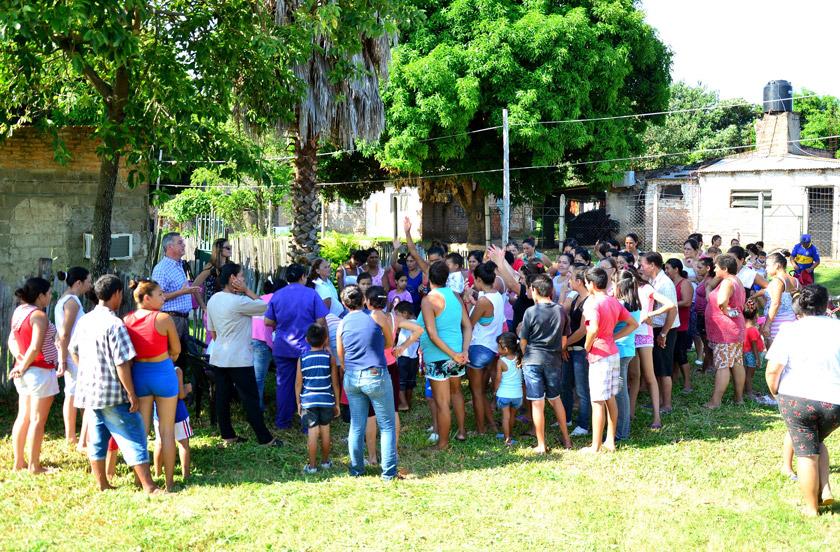 Bella Vista desarrolla planes de ayuda social y educativa