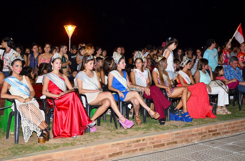 El carnaval convocó a reinas zonales y nacionales