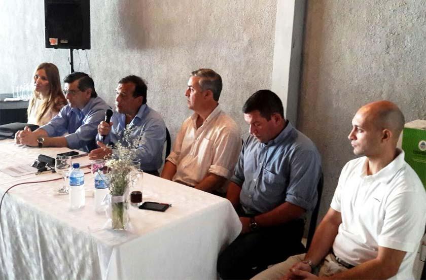 El gabinete del Ministerio de Salud se reunió en Bella Vista