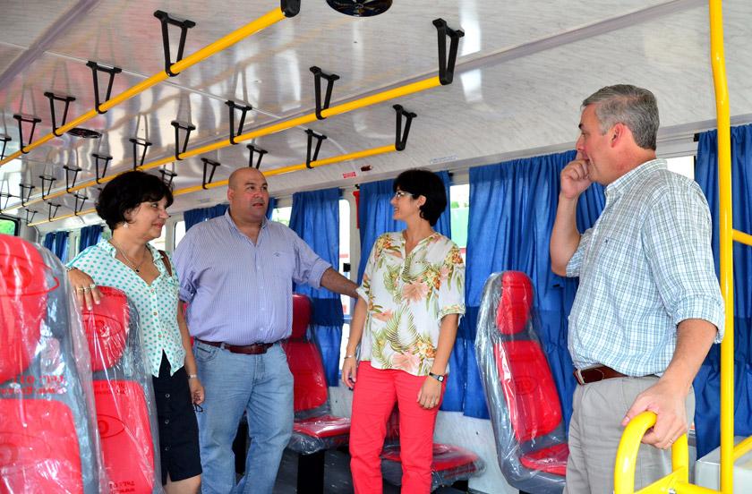 Nueva unidad para el transporte público de pasajeros
