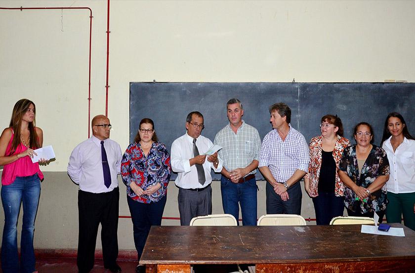 Actividades oficiales del intendente Chavez