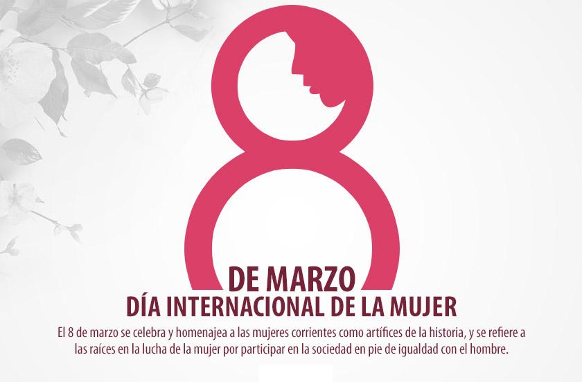Saludo por el Día Internacional de la Mujer