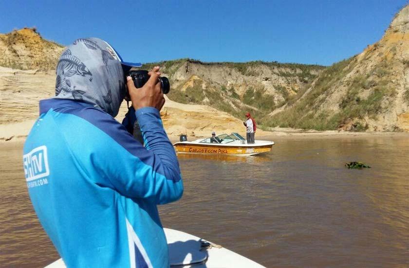 FISH TV en relevamiento pesquero de Bella Vista