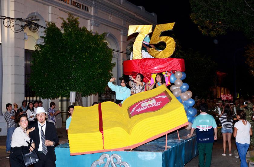 La Escuela Normal festeja sus 75 años