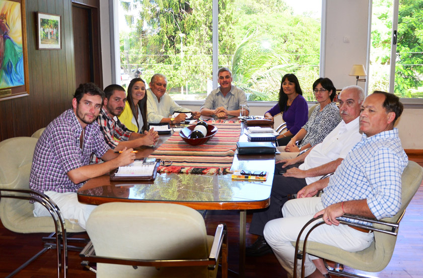 Chavez presentó a los nuevos secretarios ejecutivos
