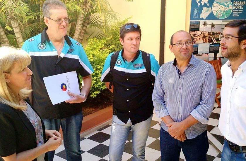 Se presentó en Corrientes el 10° Motoencuentro Internacional de Bella Vista