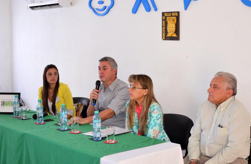 Presentaron actividades anuales del Centro Sin Barreras