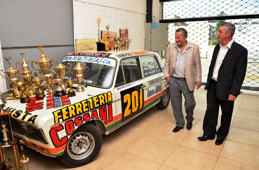 Chavez y Rattazzi compartieron su pasión por el automovilismo