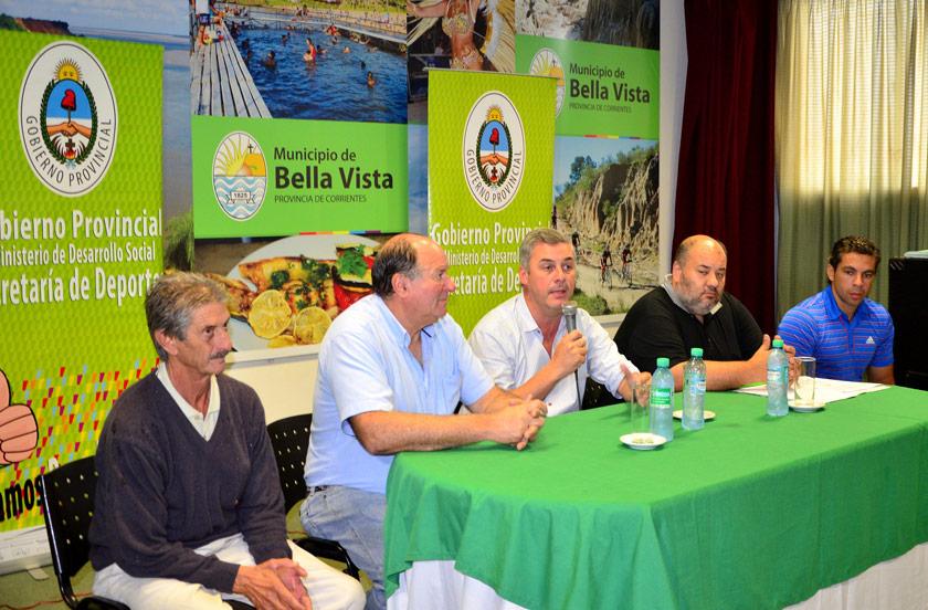 Relanzan en Bella Vista el programa Clubes Argentinos