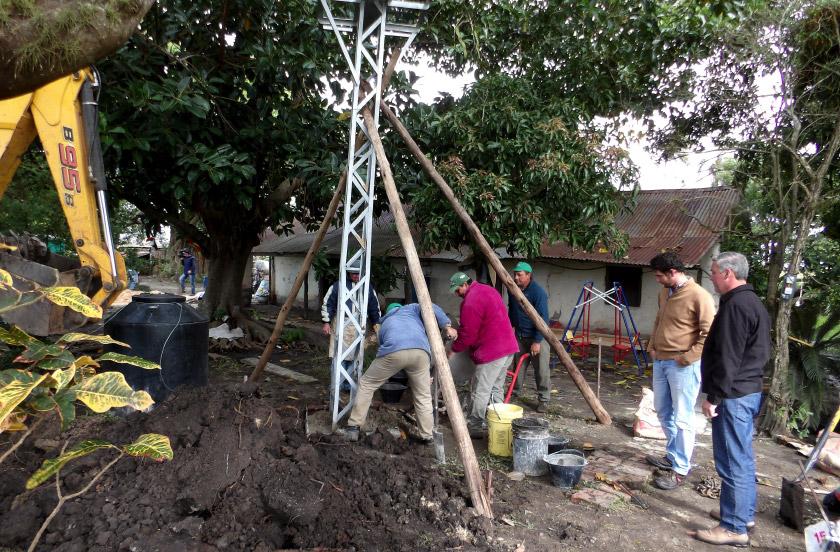 El municipio con obras en La Comarca de Colonia Progreso