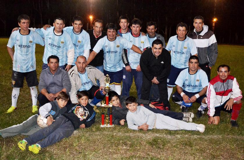 El 2º Interinstitucional de fútbol fue para Municipalidad