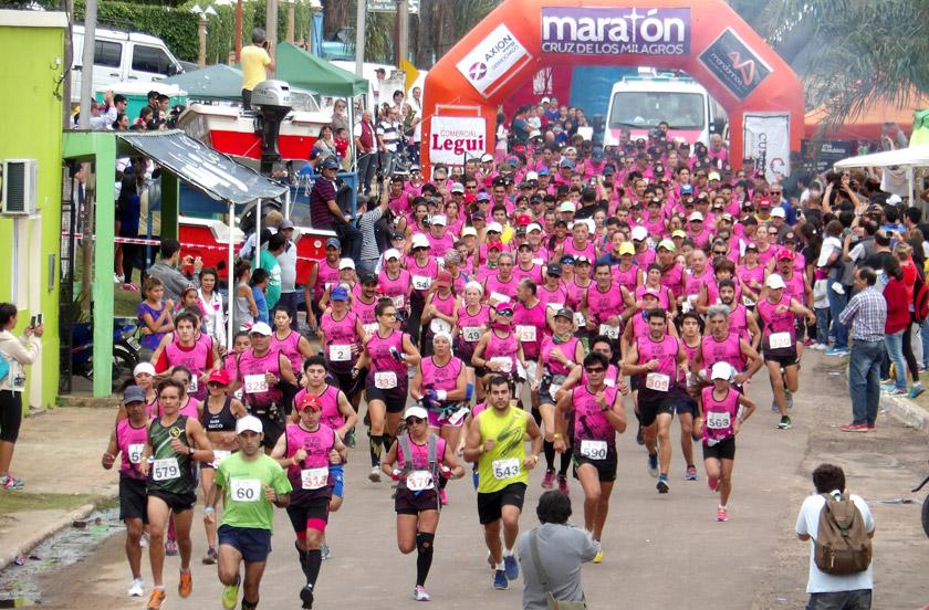 Exitosa tercera edición del Maratón Cruz de los Milagros