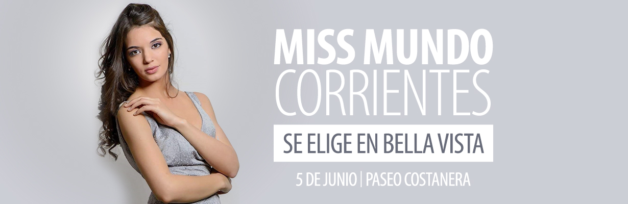 Miss Mundo Corrientes