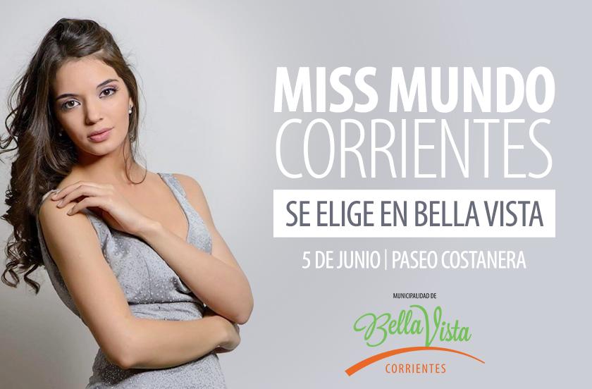 Miss Mundo Corrientes se define en Bella Vista
