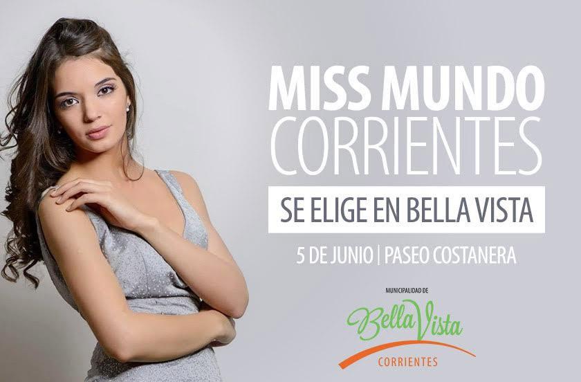 Bella Vista elige a Miss Mundo Corrientes