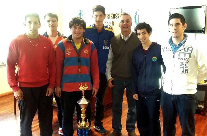 Bella Vista campeón en voley masculino en Itá Ibaté