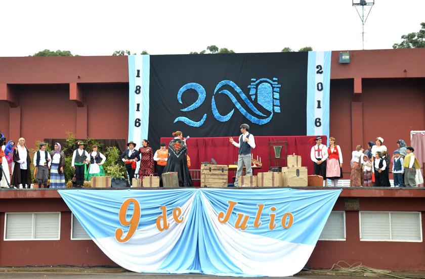 Bella Vista honró con emoción los 200 años de la Independencia Argentina