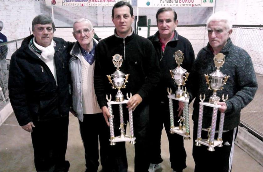 Corrientes fue campeón del Provincial de Bochas de Bella Vista 2016