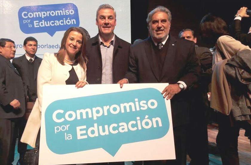 Chavez presente en el lanzamiento nacional de Compromiso por la Educación