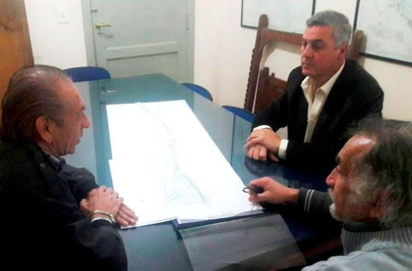 El intendente Chavez con gestiones en Corrientes
