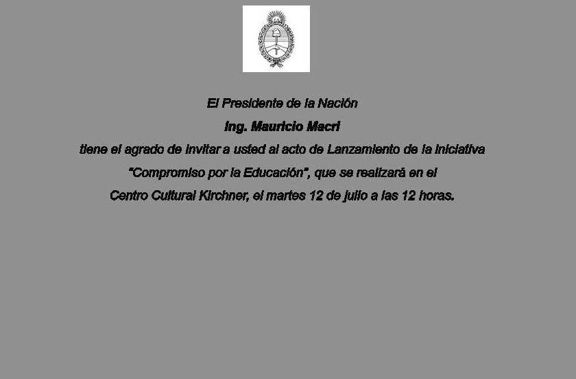 Chavez con Macri en la firma de Acuerdo Nacional Educativo