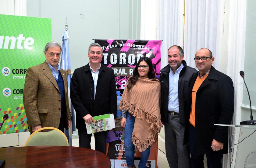 Presentaron en Corrientes el Toropí Trail Run 2016