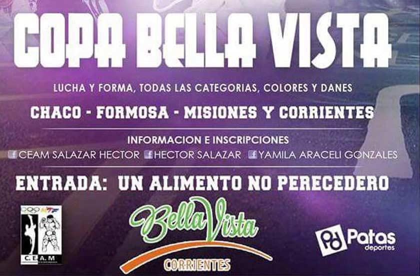 Bella Vista será sede del Regional de Taekwondo 2016