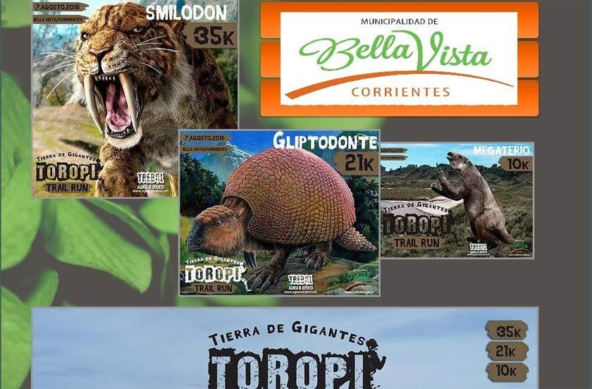Avanza la organización del Toropí Trail Run