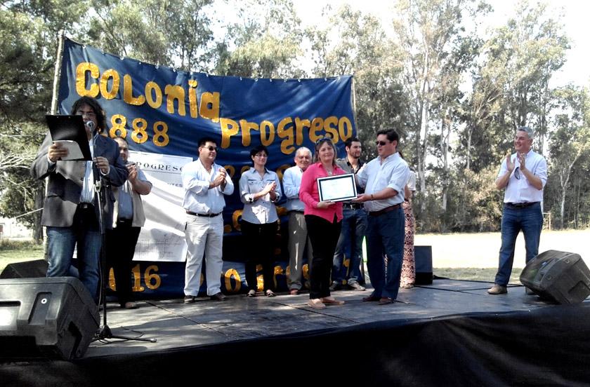 128 aniversario de Colonia Progreso