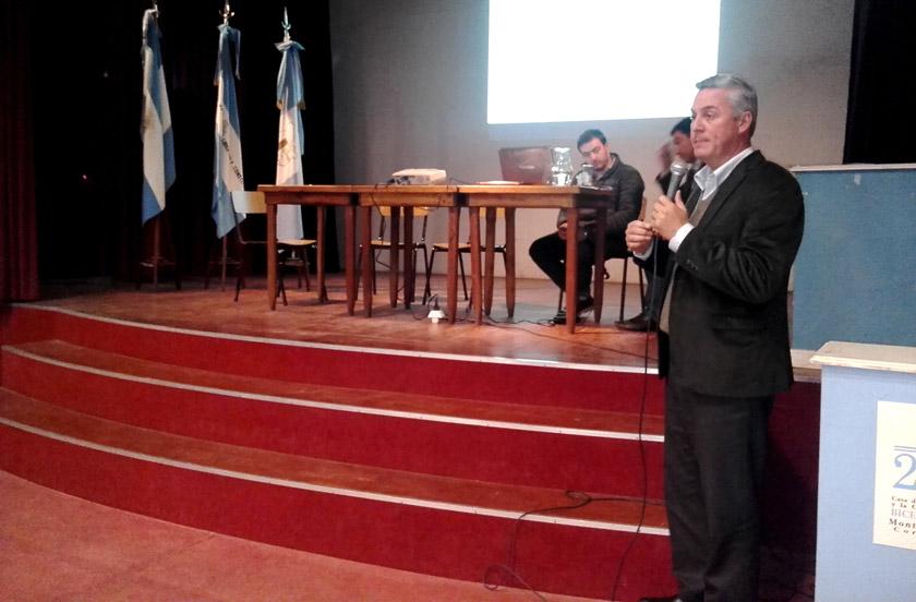 Chavez presentó en Monte Caseros el Servicio de Emergencia Urbana