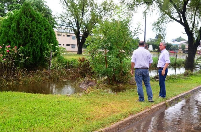 Expectativas por las obras de desagüe para Bella Vista
