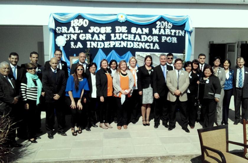 Bella Vista con actos oficiales en homenaje al General San Martín