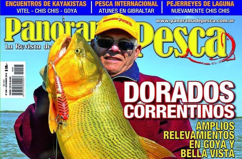 Revista especializada anticipa la temporada de pesca en Bella Vista