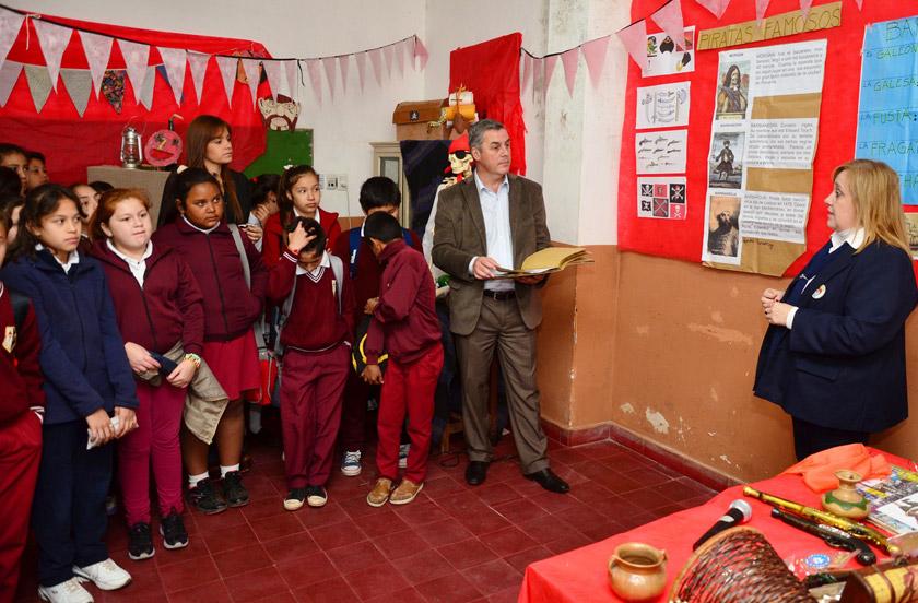 Inauguraron la 4º Feria del Libro Infantil