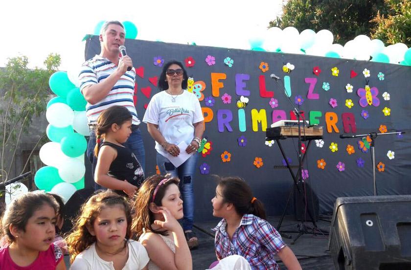 Fiesta de la Primavera en Barrio Aguilar