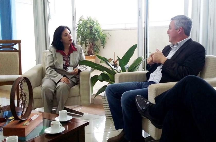 Bella Vista y Guarujá firmaron Convenio de Hermandad