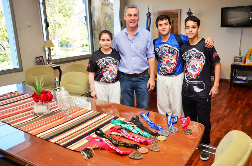 Bella Vista logró dos plazas para el Mundial de Taekwondo 2017