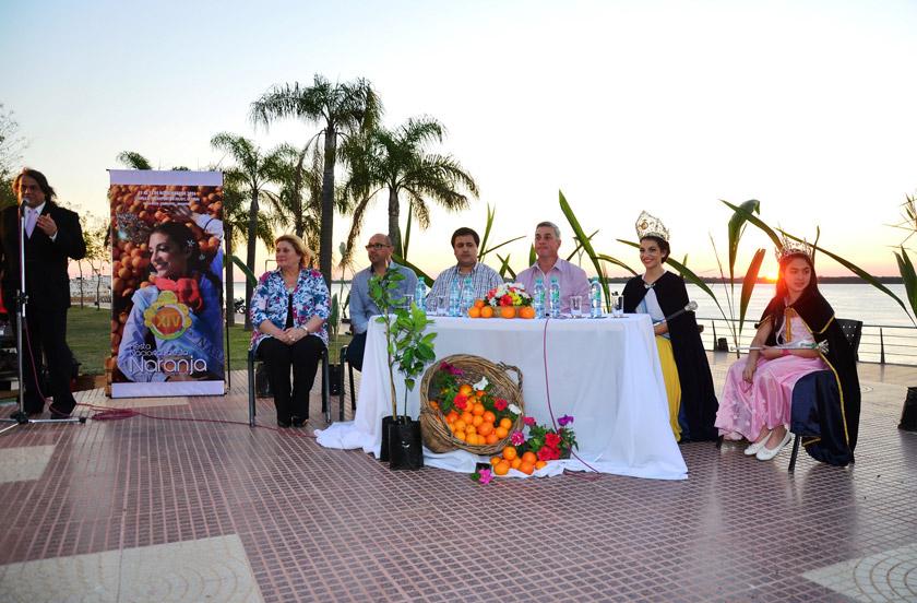 Se presentó oficialmente la Fiesta Nacional de la Naranja 2016