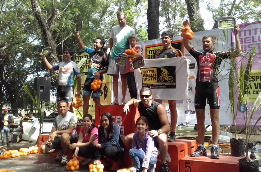 La 8º del Correntino de MTB fue un éxito en Bella Vista