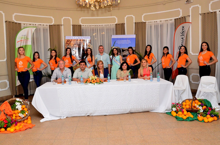 La Fiesta de la Naranja presentó a sus aspirantes 2016