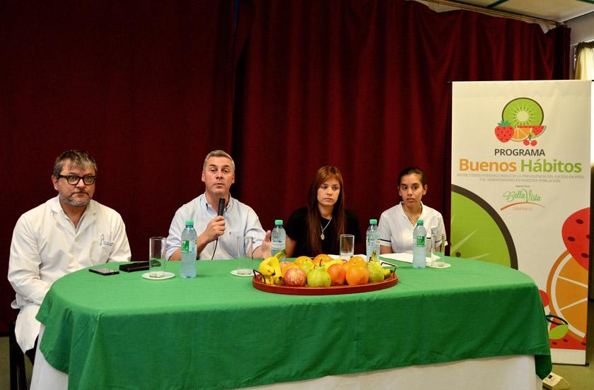 El municipio lanzó el programa Buenos Hábitos
