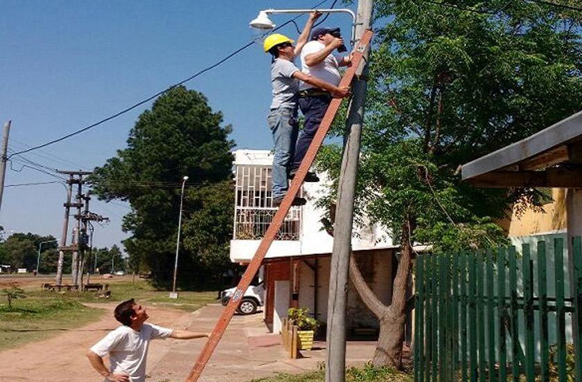Infraestructura Municipal destacó los avances en iluminación pública