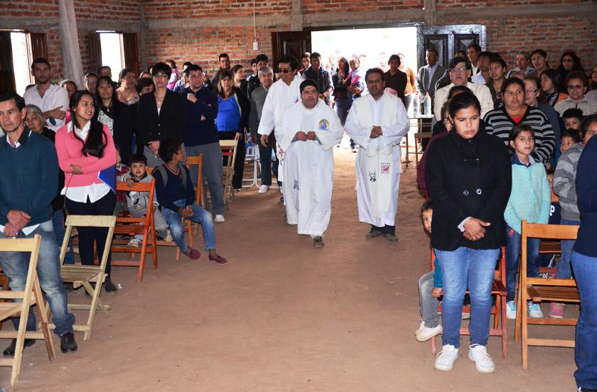 Festividad de San Miguel Arcángel en Lomas Este