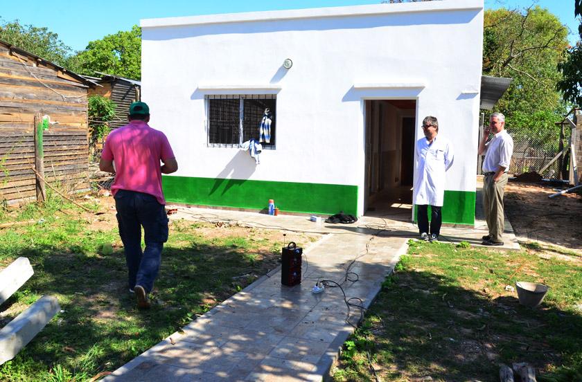 Inminente inauguración de la SAPS del Barrio Norte
