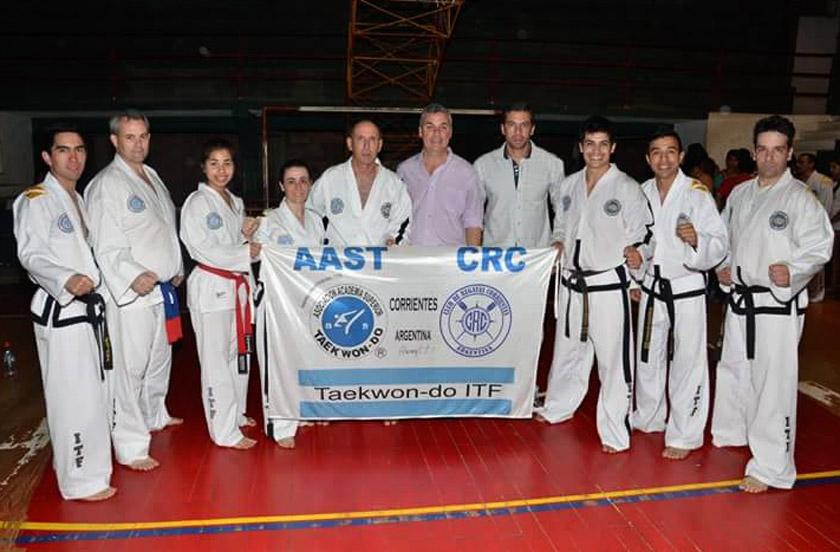 Casi 200 alumnos en Curso de Taekwondo bellavistense