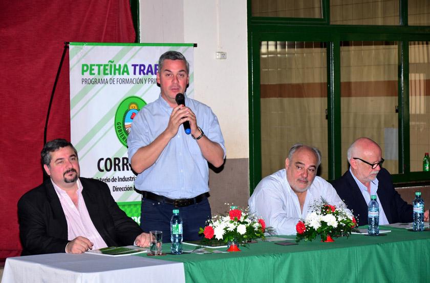 Exitosa presentación del programa Peteiha Trabajo