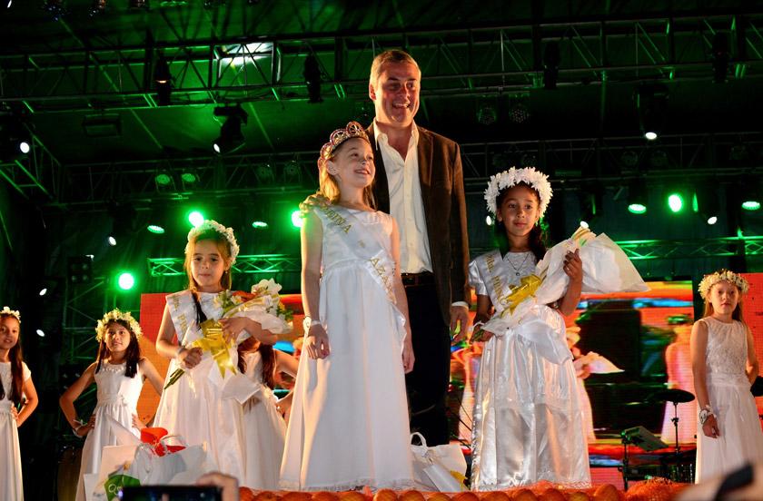 Impresionante noche inaugural de la Fiesta de la Naranja